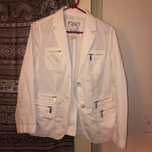 MK Petite White Blazer/Jacket